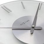 NeXtime 2631 Wall Clock, Stripe, 26 cm, glass - 4