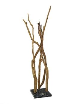 Standleuchte Stehleuchte Stehlampe 'Totholz Collection Design' Eichenäste (5997) - 1
