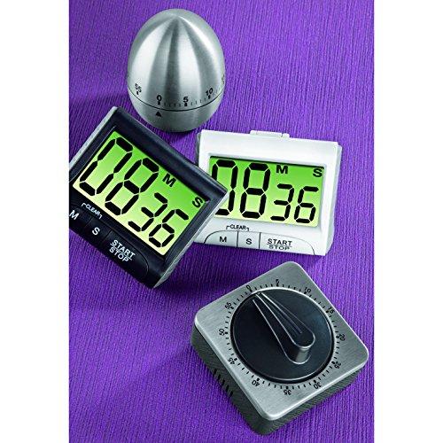 xavax digitaler k chentimer mit timer und stopp uhr funktion befestigung via magnet clip. Black Bedroom Furniture Sets. Home Design Ideas