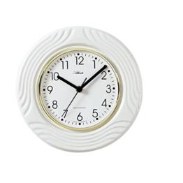 Atlanta Funk Küchenuhr Edel-Keramik Weiß - 6020 - 1
