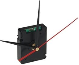 schleichendes Funk-Uhrwerk DCF mit 3 Zeigersätzen, Kunststoffgehäuse - 1