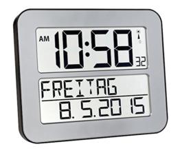 TFA Dostmann 60.4512.54 TimeLine Max Funkuhr - 1