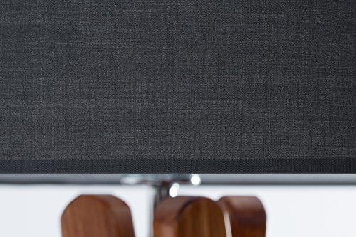 Hochwertige design stehlampe tripod mit stoffschirm in for Hochwertige stehlampen
