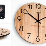 Wanduhr Holz modern kaufen