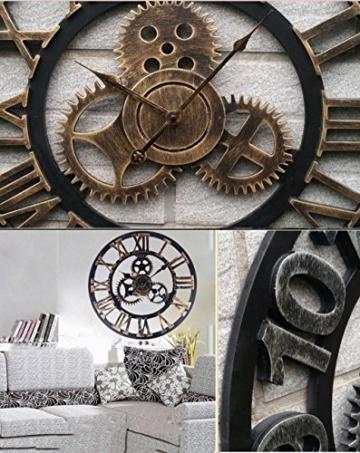 metall pr zise wanduhr redidoplanet. Black Bedroom Furniture Sets. Home Design Ideas
