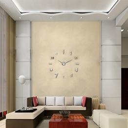 Große Wanduhr Modern wanduhr silber groß viele verschiedene produkte große silber wanduhr