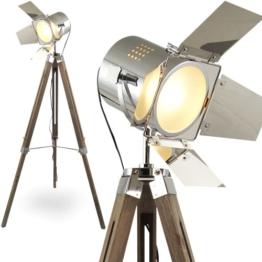MOJO® Stehleuchte Tripod Lampe Dreifuss Urban Design höhenverstellbar mq-l37 - 1