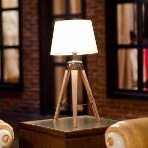 MOJO® Tischlampe Tripod Lampe Dreifuss Urban Cool Design Höhe ca. 65cm mq-l36 - 3