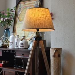 nauticalmart Marien Designer Royal Nautisches Stativ Stehlampe Moderner Teak Holz Stativ Lampe Ständer - 1