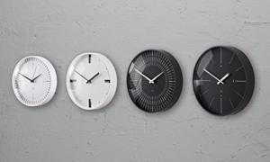 Sigel WU113 moderne, große Design Funk-Wanduhr, Modell ondo, schwarz, Ø 36 cm, reddot design award 2014 Gewinner - 12