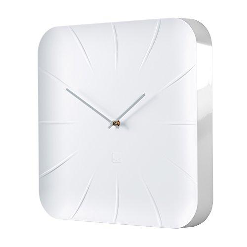 sigel wu140 moderne gro e design wanduhr modell inu wei 35x35 cm reddot design award 2014. Black Bedroom Furniture Sets. Home Design Ideas
