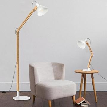 Tomons LED Stehlampe Holz - Redidoplanet - Shop