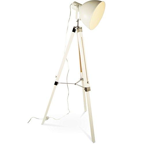 tripod dreifu stehlampe tischleuchte industrial retro design stehleuchte h henverstellbar mq. Black Bedroom Furniture Sets. Home Design Ideas