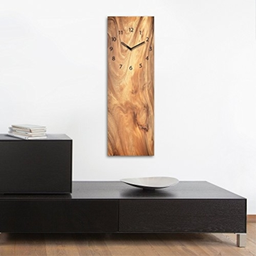 wanduhr aus glas wooden texture redidoplanet. Black Bedroom Furniture Sets. Home Design Ideas