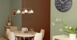 Wanduhr mit Motiv - Mathe - aus Echt-Glas | runde Küchen-Uhr | große Uhr modern - 2
