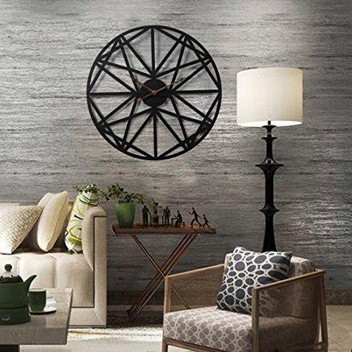 wanduhr xxl schwarz teckpeak wanduhr xxl lautlos wanduhr vintage 50 cm wanduhr gro xxl schwarz. Black Bedroom Furniture Sets. Home Design Ideas
