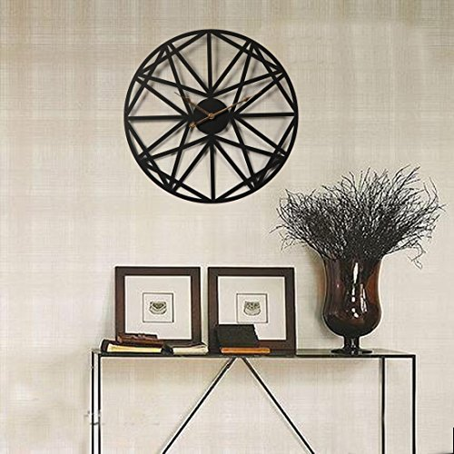 wanduhr xxl schwarz teckpeak wanduhr xxl lautlos wanduhr vintage 50 cm wanduhr gro xxl schwarz. Black Bedroom Furniture Sets. Home Design Ideas