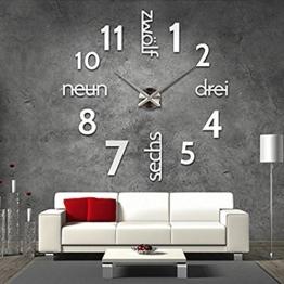 Große Wanduhren große wanduhren wohnzimmer viele verschiedene produkte
