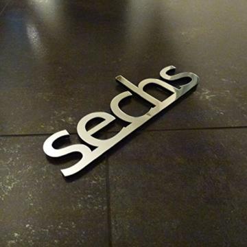 xxl 3d silberne riesen designer redidoplanet. Black Bedroom Furniture Sets. Home Design Ideas