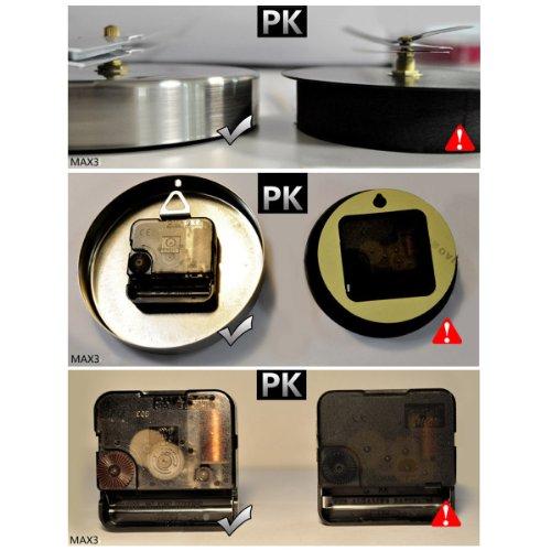 yesurprise wanduhr riesige spiegel wanduhr vinyl diy 130cm gro e xxl design uhr 2 2. Black Bedroom Furniture Sets. Home Design Ideas