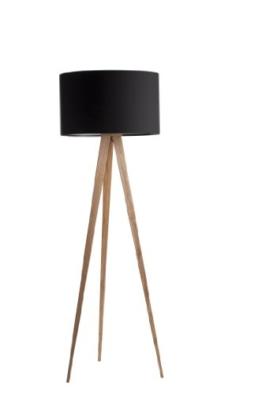 Zuiver 5000805 Floor Lamp Tripod, Holz, schwarz - 1