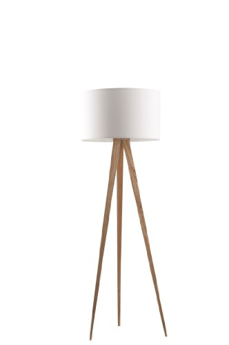 zuiver 5000806 floor lamp tripod holz wei 1 redidoplanet. Black Bedroom Furniture Sets. Home Design Ideas