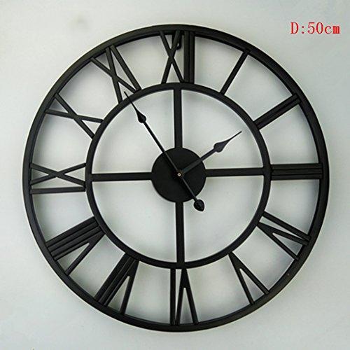 Zwl Retro Wanduhr Uhr Große Wanduhr übergroße Römische Ziffern
