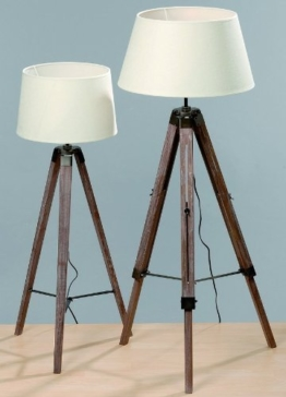 dreibein stehlampe holz viele verschiedene produkte. Black Bedroom Furniture Sets. Home Design Ideas