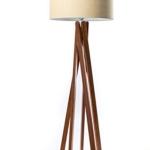 Stehlampe mit Holzfuß kaufen