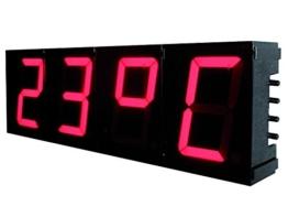 HQ 57mm 7-Segment Digital Uhr - 1