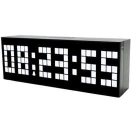 LambTown LED Digital Wecker Countdown Timer Uhr mit Temperatur Datum - Weiß - 1