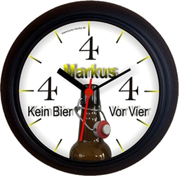 lucky clocks bieruhr kein bier vor vier 4 redidoplanet. Black Bedroom Furniture Sets. Home Design Ideas