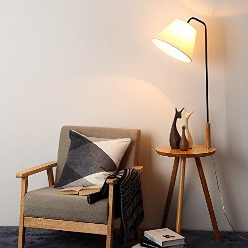 nordic holz baum zweige aufh nger stehlampe schlafzimmer studie wohnzimmer stoff drei beine l. Black Bedroom Furniture Sets. Home Design Ideas