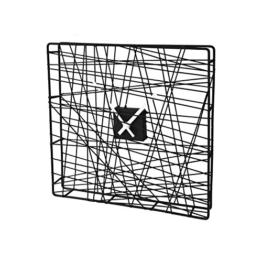 SoBuy® Moderne Design Uhr, Küchenuhr, Tischuhr, Wanduhr, Kineruhr,EUH91-SCH, (32cmx4cmx32cm) - 1