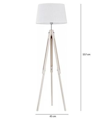 stehlampe lampe stehleuchte dreibein leuchte redidoplanet. Black Bedroom Furniture Sets. Home Design Ideas