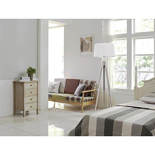 stehlampe lampe stehleuchte dreibein leuchte h henverstellbar standleuchte ikea wei 3. Black Bedroom Furniture Sets. Home Design Ideas