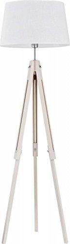 Stehlampe Lampe Stehleuchte Dreibein Leuchte höhenverstellbar Standleuchte IKEA (Weiß) - 1