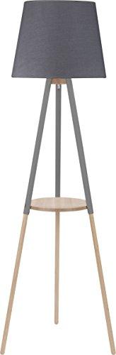 Stehlampe Lampe Stehleuchte Dreibein Leuchte Standleuchte groß 148 cm (Graphite) - 1