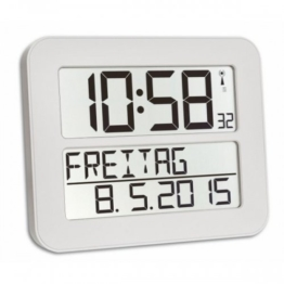 TFA Dostmann 60.4512.02 TimeLine Max Funkuhr - 1