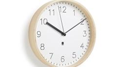 Umbra 118140-668 Rimwood Uhr mit Standfuß, Holz, natur / weiß - 2