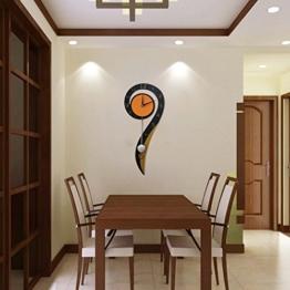Wanduhr Halterung Uhr System Uhr Horologe Quarzuhr Kristall Uhr stilvolle Uhr/Einfach extrem ruhigen Wohnzimmer Uhren - 1