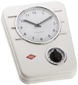 Wesco 322 401-01 Küchenuhr Classic Line weiss - 1