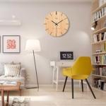 Wohnzimmer Wanduhr Holz kaufen