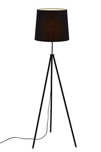 briloner leuchten stehlampe wohnzimmerlampe lampenschirm inkl schnurschalter e27 h he 139. Black Bedroom Furniture Sets. Home Design Ideas
