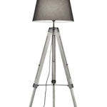 Stehlampe grau mit Lampenschirm kaufen