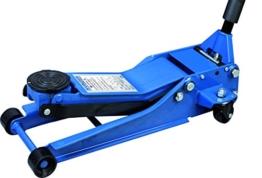 Kunzer WK 1075 Hydraulischer Rangierwagenheber 2.500 kg, Blau - 1