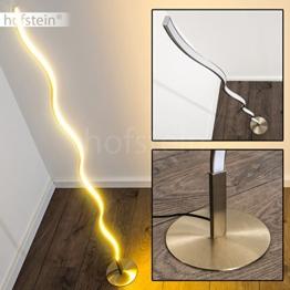 Stehleuchte Dillon minimalistische LED Stehlampe mit warmweissem Licht 3000 Kelvin 12 Watt 1000 Lumen - 1