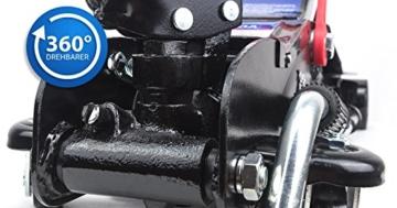 Wagenheber 2,5 T Rangierwagenheber LED Tief Hubhöhe 80mm-365mm VERDA SN3253 - 3