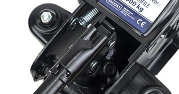 Wagenheber 2,5 T Rangierwagenheber LED Tief Hubhöhe 80mm-365mm VERDA SN3253 - 8