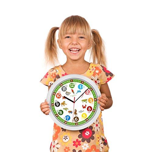 Wanduhr kinderzimmer lautlos viele verschiedene produkte for Wanduhr kinderzimmer